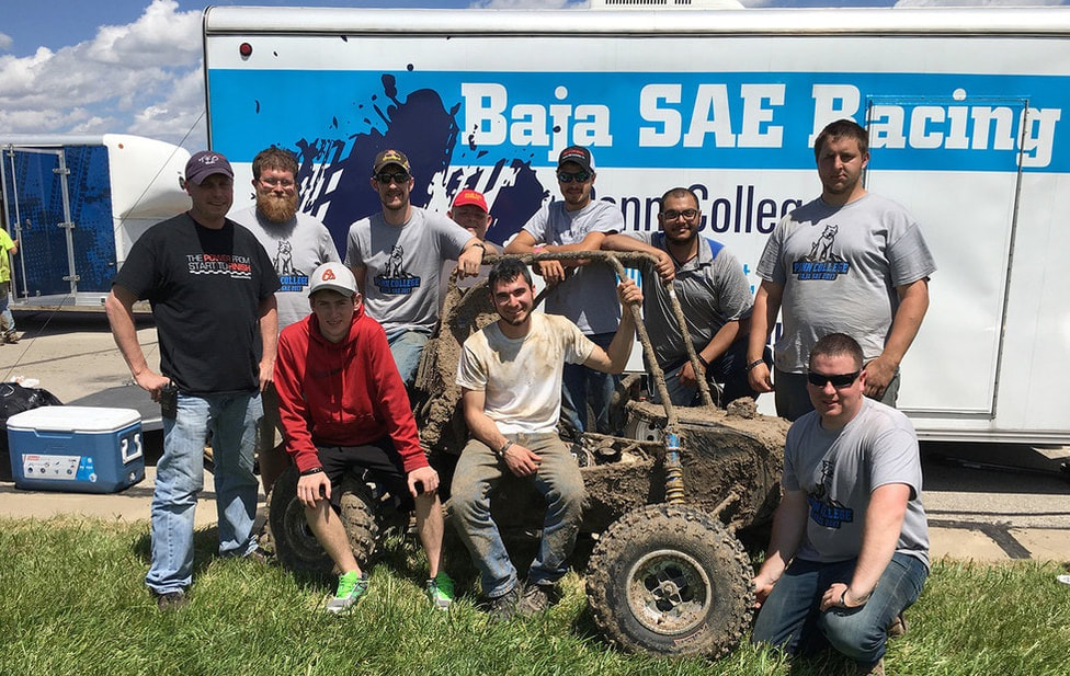 Penn College Wildcats Baja SAE Team Logo